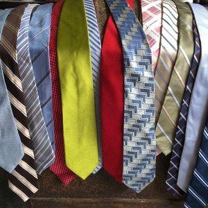 Ties Ties and More Ties